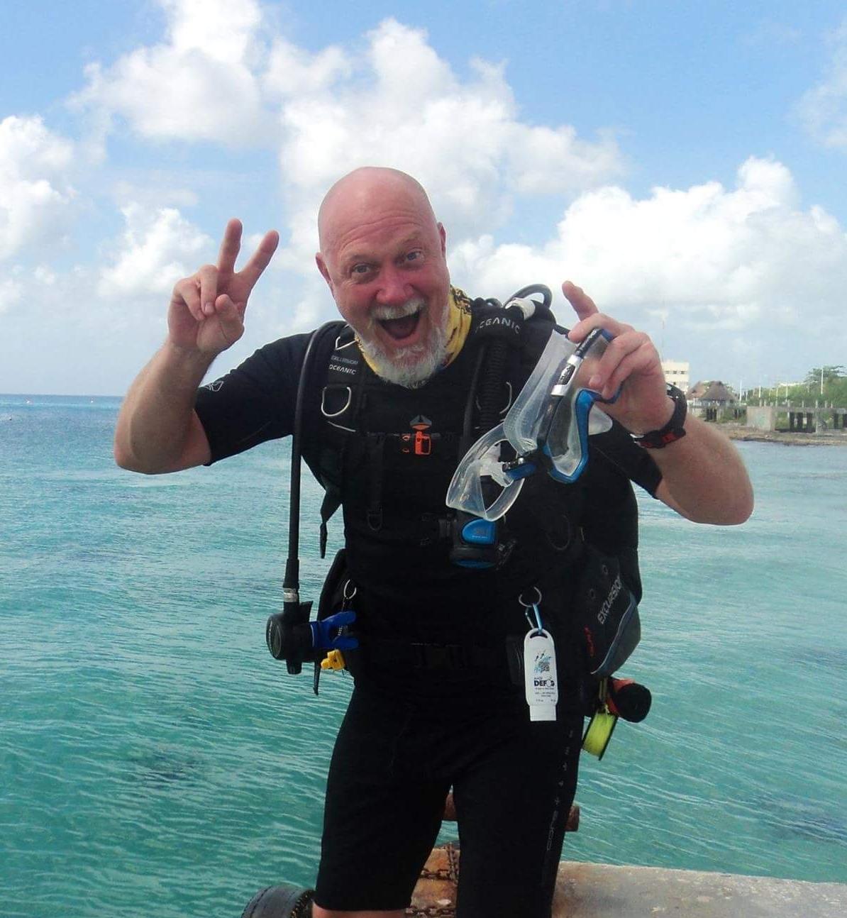 PADI IDC Staff Instructor Kendal Larson