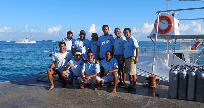 Cozumel Marine World Team