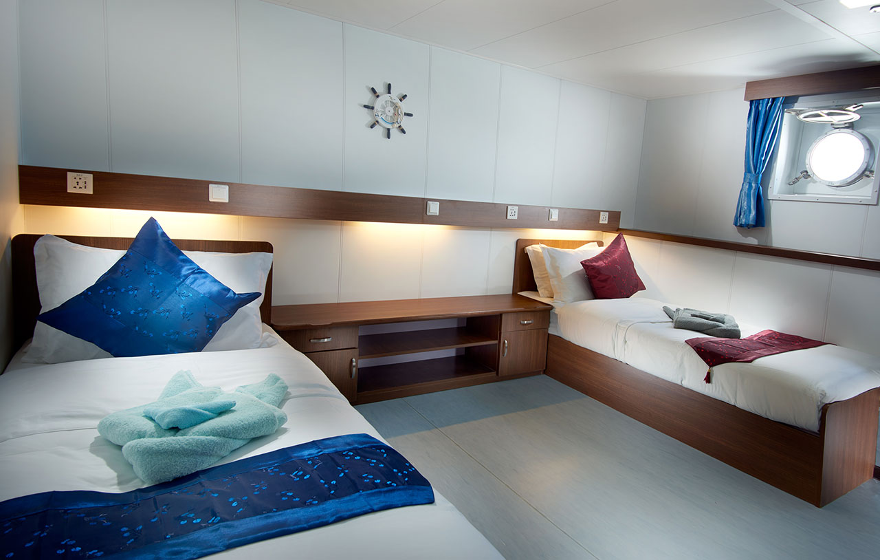 French Polynesia Master Cabin French Polynesia Dive Vacation