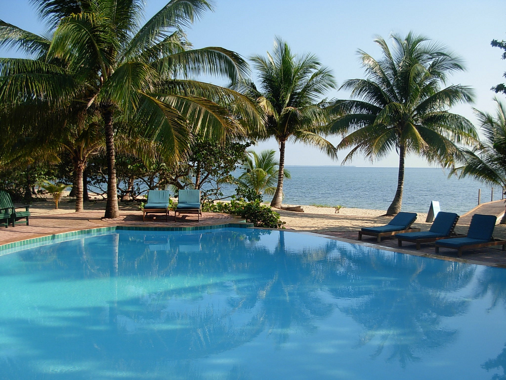 Hamanasi Adventure and Dive Resort Pool