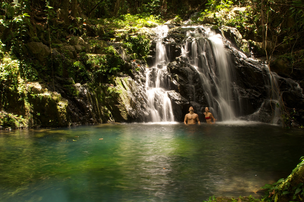 Belize Jungle Waterfall, Hamanasi
