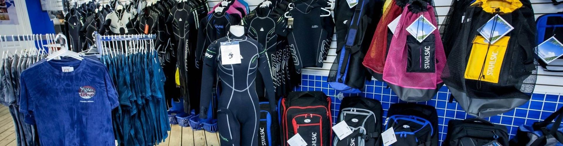 3 - Sugar Land Dive Center Bags and Wetsuits